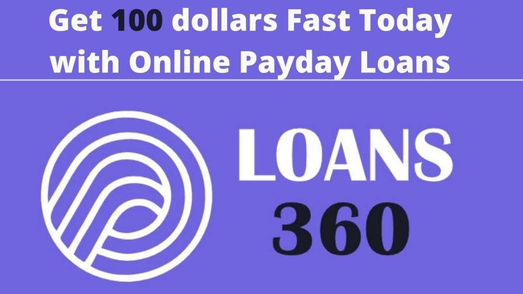 100 dollar loan