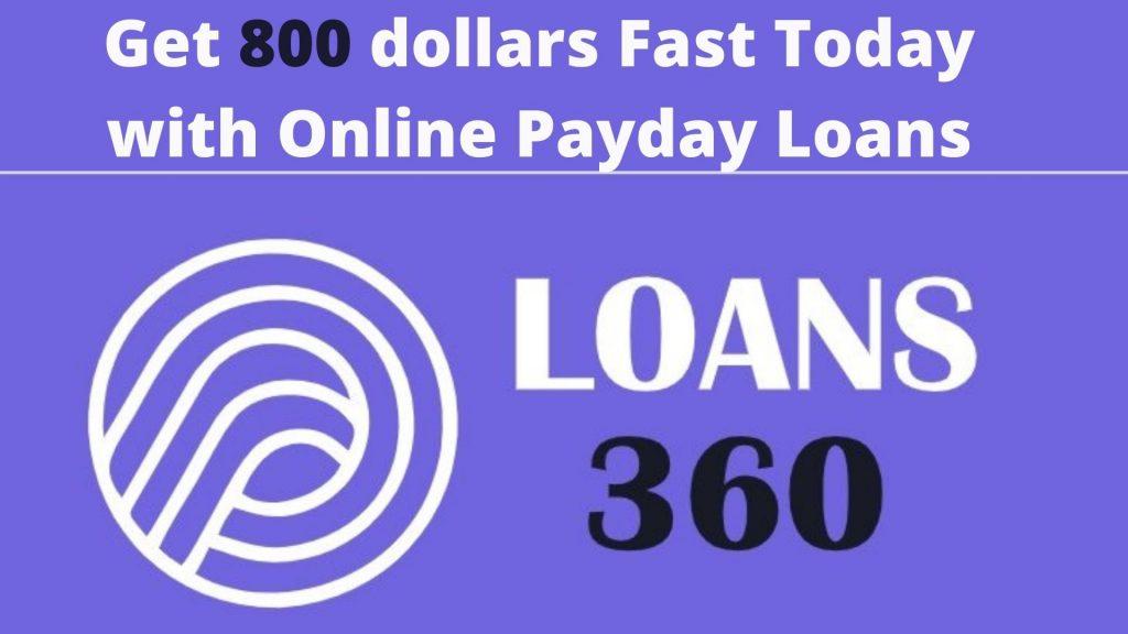 800 dollar loan